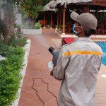 Phun thuốc diệt muỗi tại Tây Ninh
