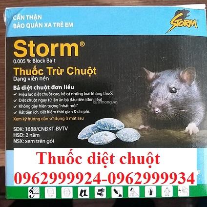 Chúng tôi sử dụng thuốc diệt chuột sinh học nhập khẩu an toàn cho con người và môi trường xung quanh